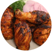 tandoori half chicken