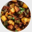 Okra and Potato Masala