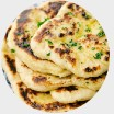 Cheese stuffed naan