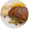Potato and Pea Cakes